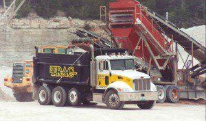 Image of gravel truck